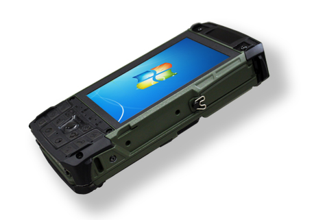 Rocky Db6 Smallest Fully Rugged Handheld With Windows 7