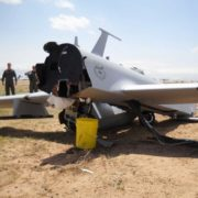 UAV crash image