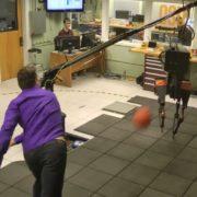 dodgeball robot