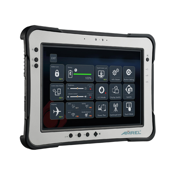 New Ultra Bright Thin Rugged Tablet
